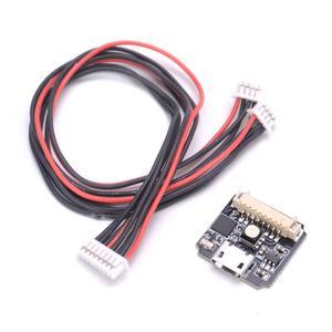 Image 5 - Pixhawk PX4 PIX 2.4.8 32 Bit uçuş kontrolörü + 433 / 915 telemetri + M8N GPS + Minim OSD + PM + emniyet anahtarı + Buzzer + PPM + I2C + 4G SD