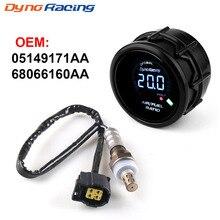 Oxygen-Sensor Narrowband Air-Fuel-Ratio-Gauge Digital Dynoracing 52mm O2 for Chrysler