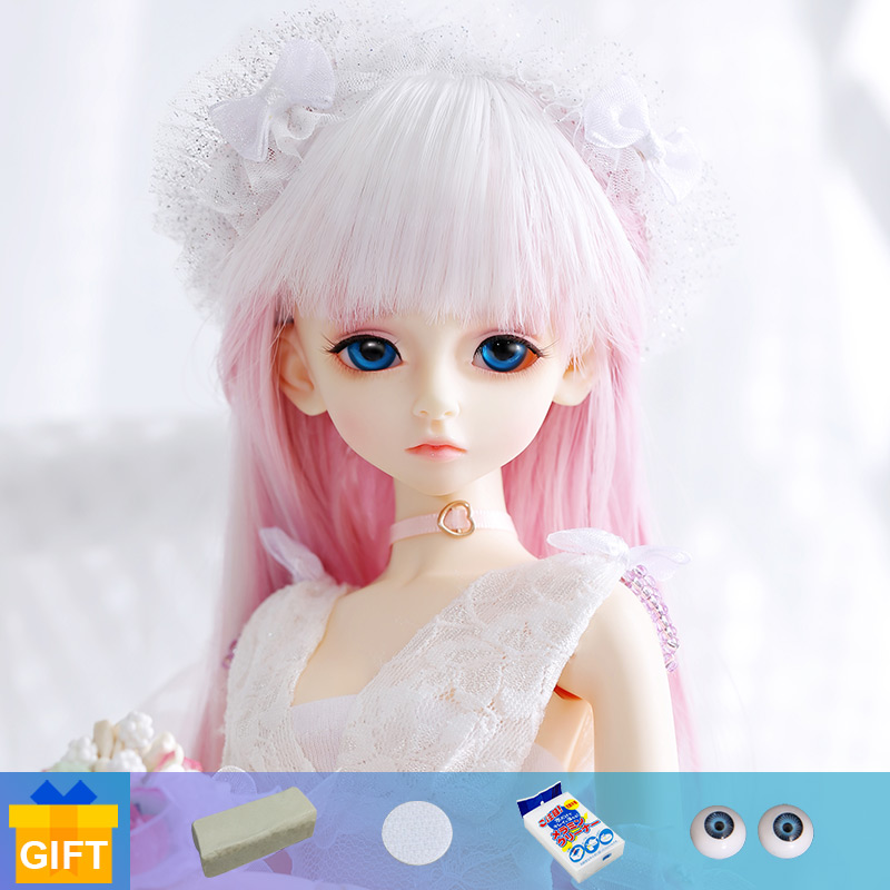 Luts Bory 1/4 Doll BJD Resin Body Model Girls Fullset complete professional makeup Toy Gifts joint doll