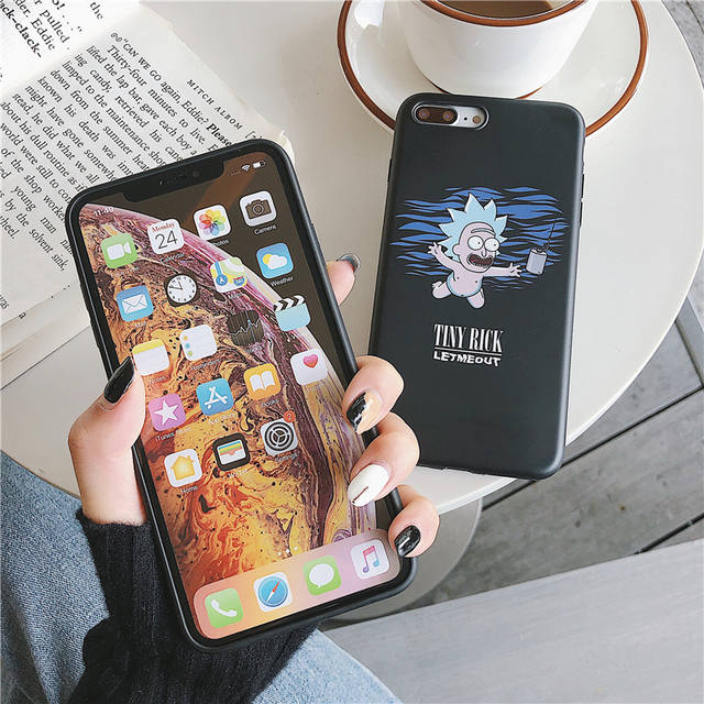 RICK AND MORTY IPHONE CASE (2 VARIAN)