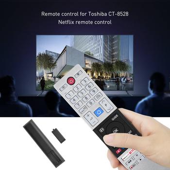 Nadaje się do Toshiba TV TOSHIBA CT-8528 pilot z kluczem Fplay netflix tanie i dobre opinie Sunydeal NONE CN (pochodzenie) Other remote control