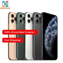 Перейти на Алиэкспресс и купить new apple iphone 11 pro a2217 mobile phone 5.8дюйм. 4gb ram 64/256/512gb rom triple rear camera 1125 x 2436 pixel hexa-core phones