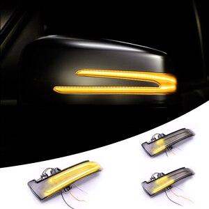 Image 3 - 1 pair Blinker Lamp For W221 W212 W204 W176 W246 X156 C204 C117 X117 Car Rear View Mirror Light LED Indicator Turn Signal Light