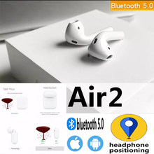 air 2 Bluetooth earphones Wireless headphones Touch control Earbud Surround Charging Solid case For airpods for Android iPhone(China)