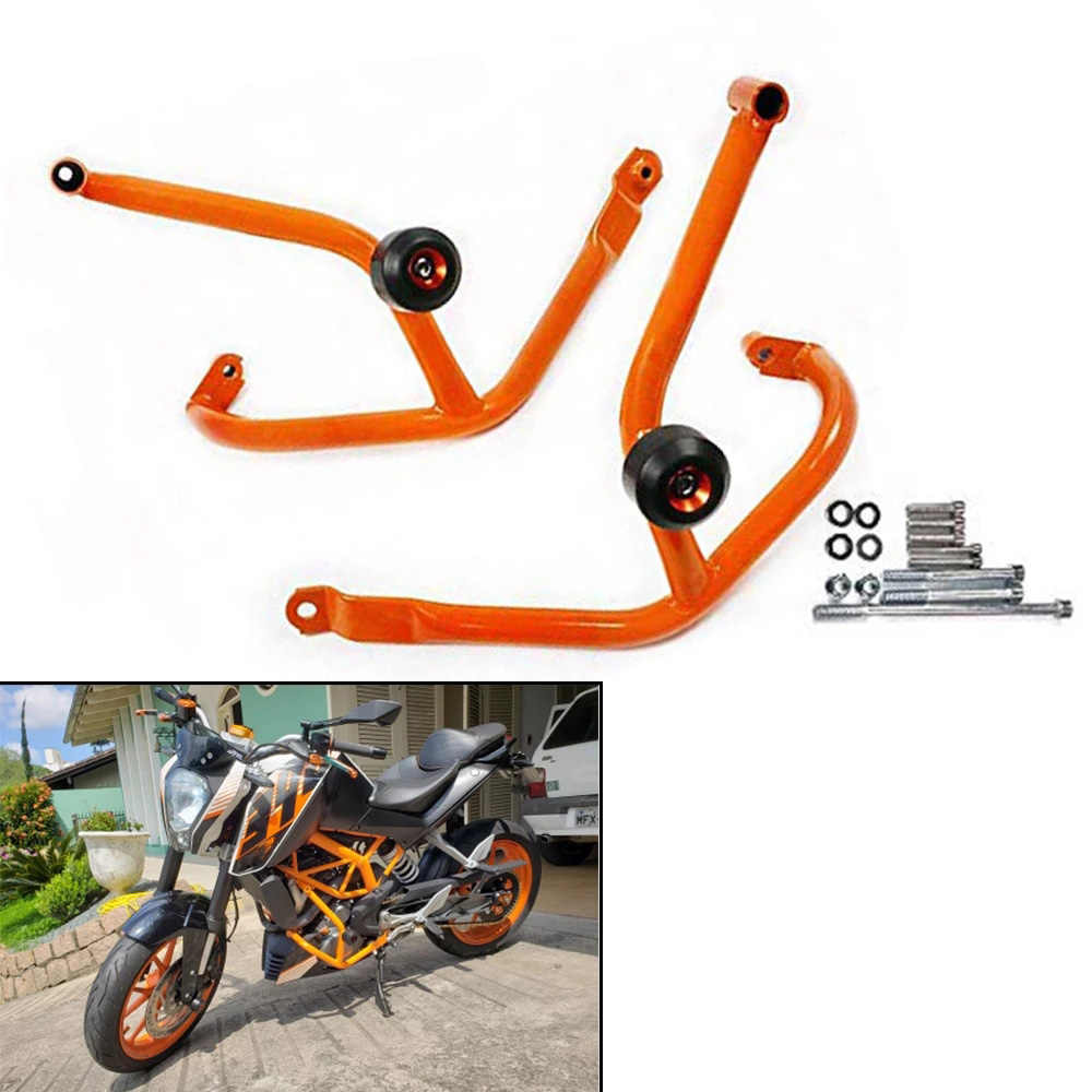 NiceCNC Engine Guard Sliders Plate Protector For KTM 390 250 Duke Crash Case