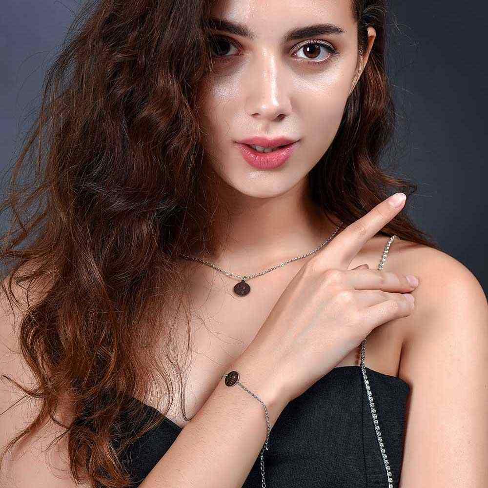 Aaaaa jakość 100% stal nierdzewna miłość łapa naszyjnik charms dla kobiet moda naszyjnik charms s super moda urok biżuterii