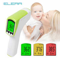 ELERA Forehead/Ear Baby Thermometer Non-Contact Digital Infrared Termometro Child/Adult Muti-Fuction Body Fever Measure Device