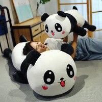 1.4M Panda Plush Toys Cute Cartoon Big Panda Plush Toys Naughty Panda Pillow Doll Stuffed Cartoon baby Pillow Kid Toy Gift