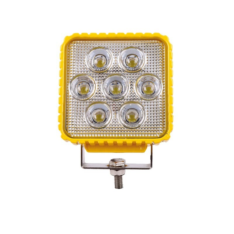Manufacturer Direct Sales 35W Square Engineering Car Roof Lamp LED Work Spotlight Refitting Spotlight