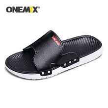 Sandals Flip-Flops ONEMIX Beach-Shoes Lightweight Comfortable Male Outdoor Walking Summer