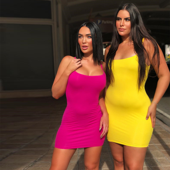 Halter Sexy Solid Color Tight Bag Hip Skirt Women Off Shoulder Mini Bodycon Summer Dress Women Backless Club Party Sexy Dress brown mesh sexy women s step skirt was thin bag hip dress h9349 women summer ladies sexy tube fancy slip slim fit dress