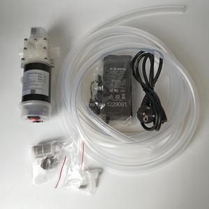 G1/2 порт DC 12 В 80 Вт пищевой мембранный жидкостный насос Самовсасывающий бустерный насос с автоматическим переключателем 13л/мин для красного ...