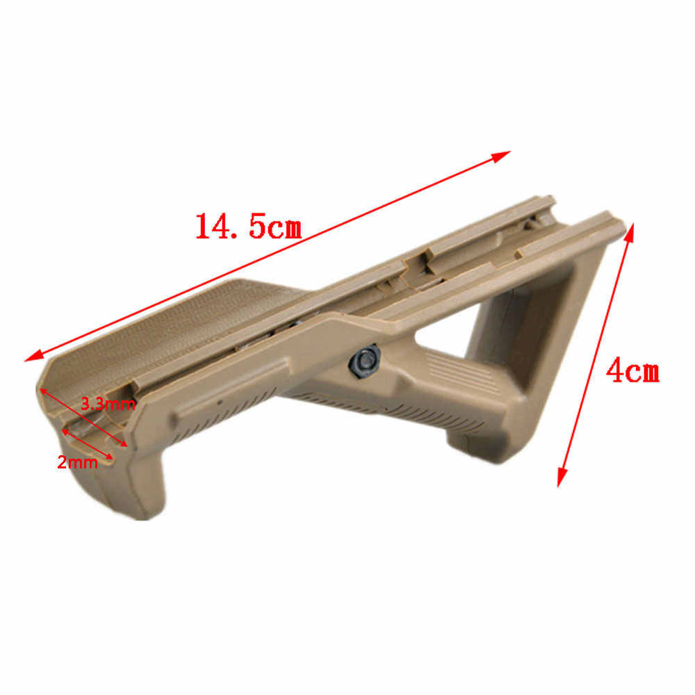 Tactische Polymeer Pistol Grip Qd Verticale Grip Vouwen Bipod Handgreep Foregrip Voor Jacht Airsoft M4 AR15 Rifle Accessoire