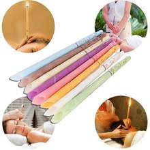 Indian Therapy Ear Cleaner Earwax Candles Hollow Blend Cones Natural Beeswax Aromatherapy Removal Fragrance Candling Cone Relax