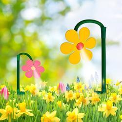 Słonecznik wody zraszacz ogrodowy narzędzie do kwiat rośliny trawa Patio trawnik ogrodnictwo roślin na zewnątrz nawadniania