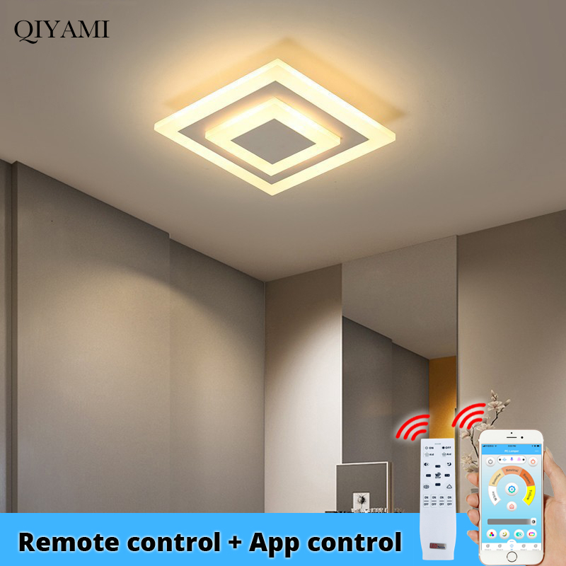Modern Ceiling Lights With APP Control Indoor Lighting For Hallway Light Balcony Lighting Corridor Lamps Bedroom Input AC90-260V image