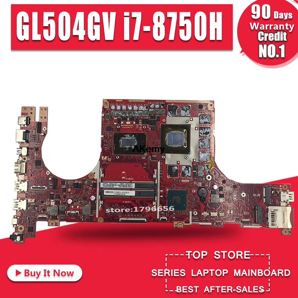 GL504GV Motherboard For ASUS ROG STRIX HERO II GL504GV GL504GW GL504 GL504GM GL504GS Laptop Motherboard I7-8750H RTX 2060