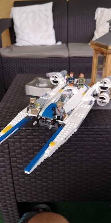 スターウォーズ反乱 U 翼戦闘機ビルディングブロックキットおもちゃ