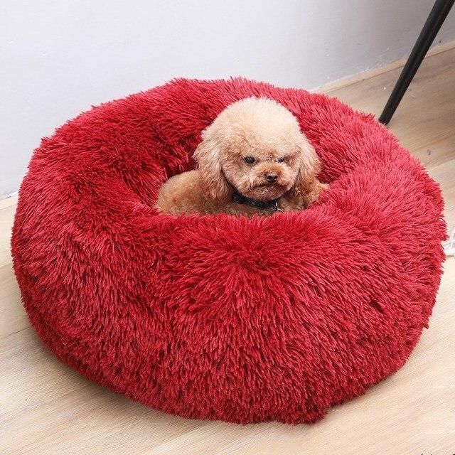 Round Dog Bed 6
