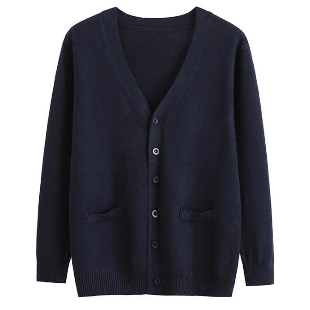 Plus tamanho tricô cardigan camisola dos homens panos coreano solto frente aberta manga longa botão para baixo malha superior malhas casaco de lã