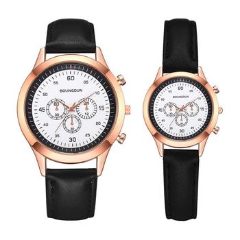 2020 Lovers Watches Women Fashion Black Female Quartz Gifts Clock Casual Ladies Vintage Leather Couple Watches Zegarki Damskie цена 2017