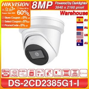 Image 1 - Hikvision Original IP Kamera DS 2CD2385G1 I 8MP Netzwerk CCTV Kamera H.265 CCTV Sicherheit POE WDR Sd karte Slot EeayIP 3,0 OEM