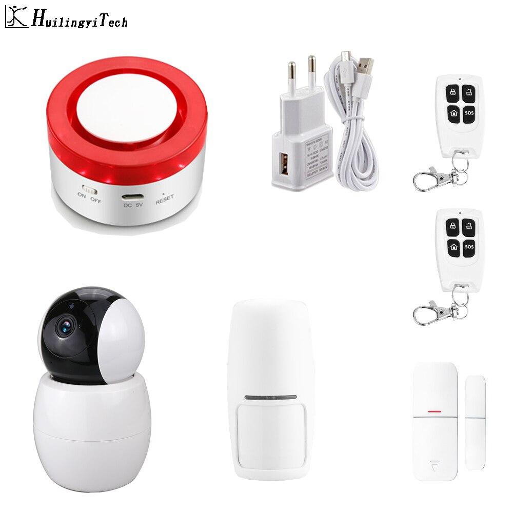 Tuya Vida Inteligente de Segurança Em Casa WI-FI Inteligente GSM Home do Assaltante Segurança Detector De Movimento Do Sistema de Alarme APP Controle Remoto