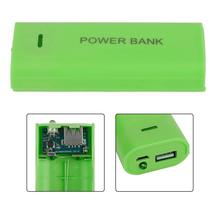5600mAh 2X 18650 USB Power Bank Battery Charger Case DIY Box For iPhone Smart Phone MP3 Electronic Mobile Charging