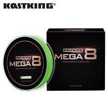 Kastking mega8 linha de pesca trançada, resitente, 137m, 274m, 457m, 8 fios, pe, multifilamento, 10lbs, 15lbs, 20lb 25lb 30lb 40lb 80lb