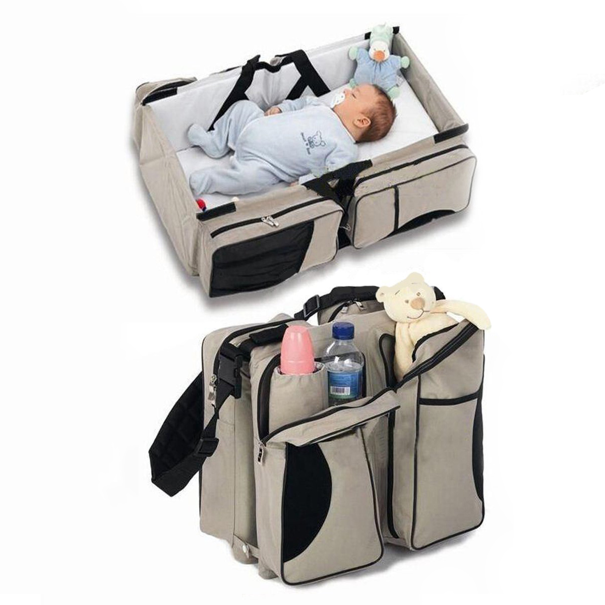 Newborn Baby Portable Travel Bed Crib Baby Furniture Babydoll Bed For Babies Travel Bag   Crib Mommy Pack
