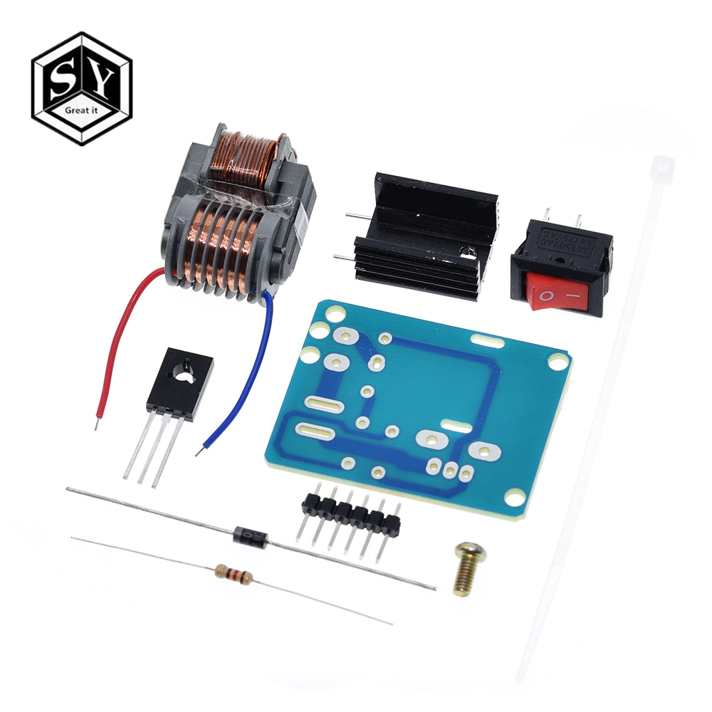 15KV High Frequency DC High Voltage Arc Ignition Generator Inverter Boost Step Up 18650 DIY Kit U Core Transformer Suite 3.7V(China)