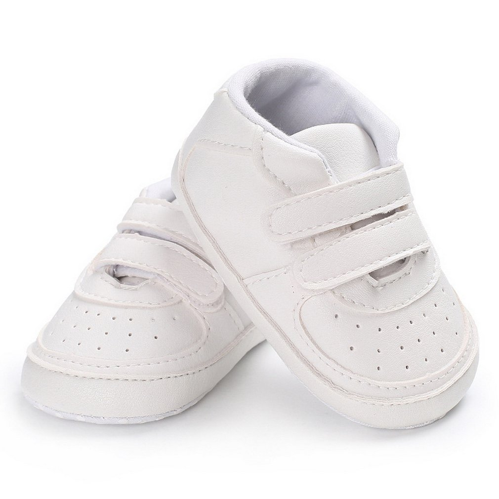 Spring Autumn Two Strap Sticky Newborn Baby Boys Girls Leather Comfortable Shoes Newborn Baby Toddler First Walkers Shoes