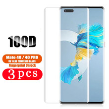 3/2/1Pcs for huawei mate 40 pro plus RS 30 lite 30E 20 pro 20X phone screen protector tempered glass protective smartphone film