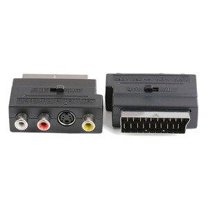 Image 5 - Rvb péritel vers Composite 3RCA s vidéo AV TV Audio adaptateur ou vidéo DVD enregistreur TV projecteur de télévision