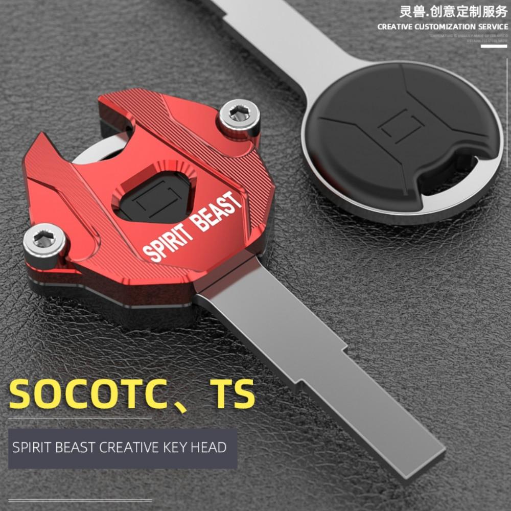 SPIRIT BEAST Aluminum CNC Electric Motorcycle Key Case Shell Cover For SOCOTC TS TC