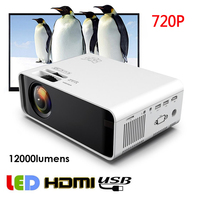 High Quality Mini Projector With Android WiFi 3D LED Projector 12000 Lumens TV Home Theater For Iphone USB VGA Support 3D HDMI