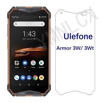 Перейти на Алиэкспресс и купить 2.5D 9H закаленное стекло для Ulefone Armor 3W Взрывозащищенная защита для экрана для Ulefone Armor 3WT Передняя стеклянная крышка для телефона