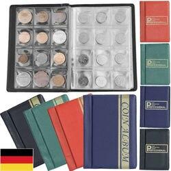 120 blätter Münze Halter 4 Farben Tragbare Münze Album Fall Lagerung Ordner Halter Buch Sammlung Album Münze Cent Geld Sammeln