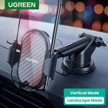 Ugreen Car Phone Holder for Your Mobile Phone Stand in Car Cellular Support Holder for iPhone 11 8 Car Suction Cup Mobile Holder