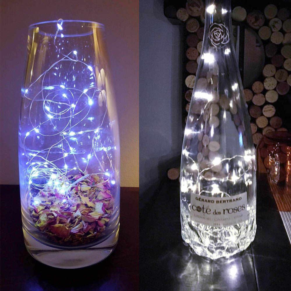 الصمام سلسلة ضوء USB بالطاقة/بطارية تعمل بالطاقة 1M 2M 3M 5M 10M 12M الجنية للماء عيد الميلاد عطلة حزب في الهواء الطلق الشظية وير