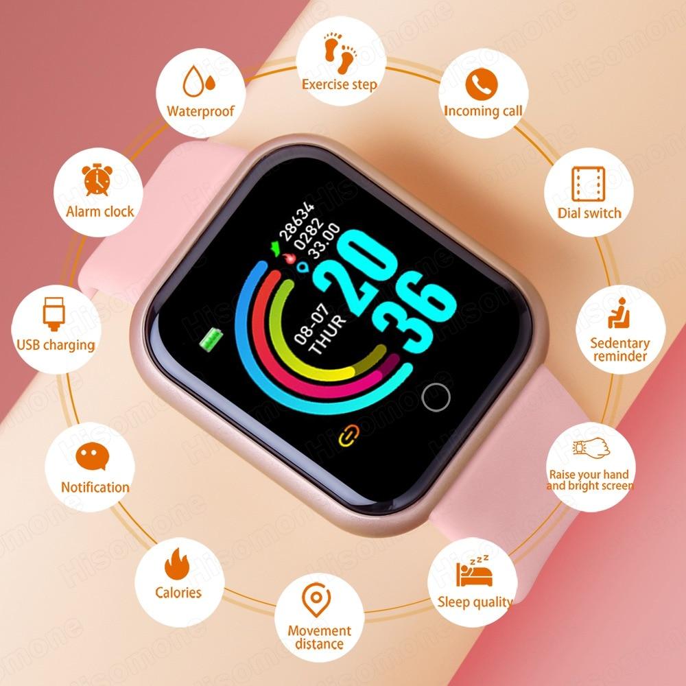 Smart Watch Android Men Women Smartwatch 2020 Heart Rate Monitor Fitness Tracker Sport Watch Smart Bracelet for iPhone Xiaomi 2