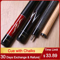 2018 Cuppa HS Pool Cues Stick 13mm/11.5mm/10.5mm/ Tip Billiard Cue with 2 Chalks China