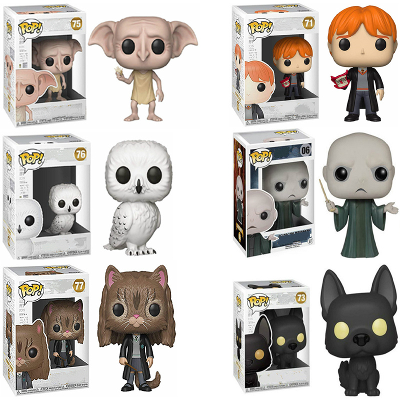 Funko POP Harri Potter Snape Dobby Voldemort Action Figure Model Pvc Collection Toys For Chlidren Birthday Gifts Vinyl Doll