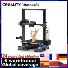 Creality Ender-3 max impressora 3d kit estrutura integrada 300*300*340mm construir suporte de volume impressão silenciosa/segurança fonte de alimentação