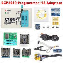 Высокоскоростной USB-программатор EZP2019 + SPI с поддержкой 24 25 93 EEPROM, флеш-Bios-чипы