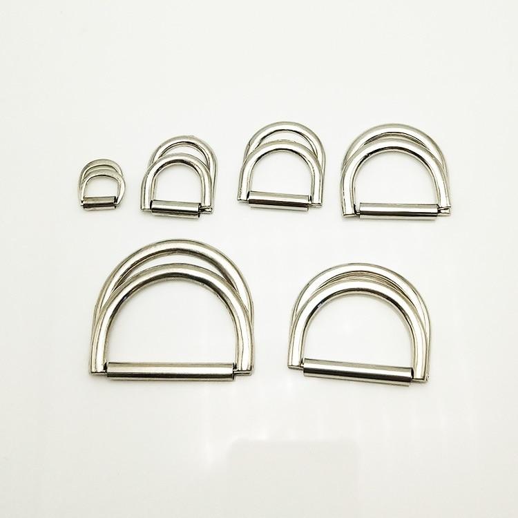 10 X 15 mm cierres de hebilla de plástico anillos en D