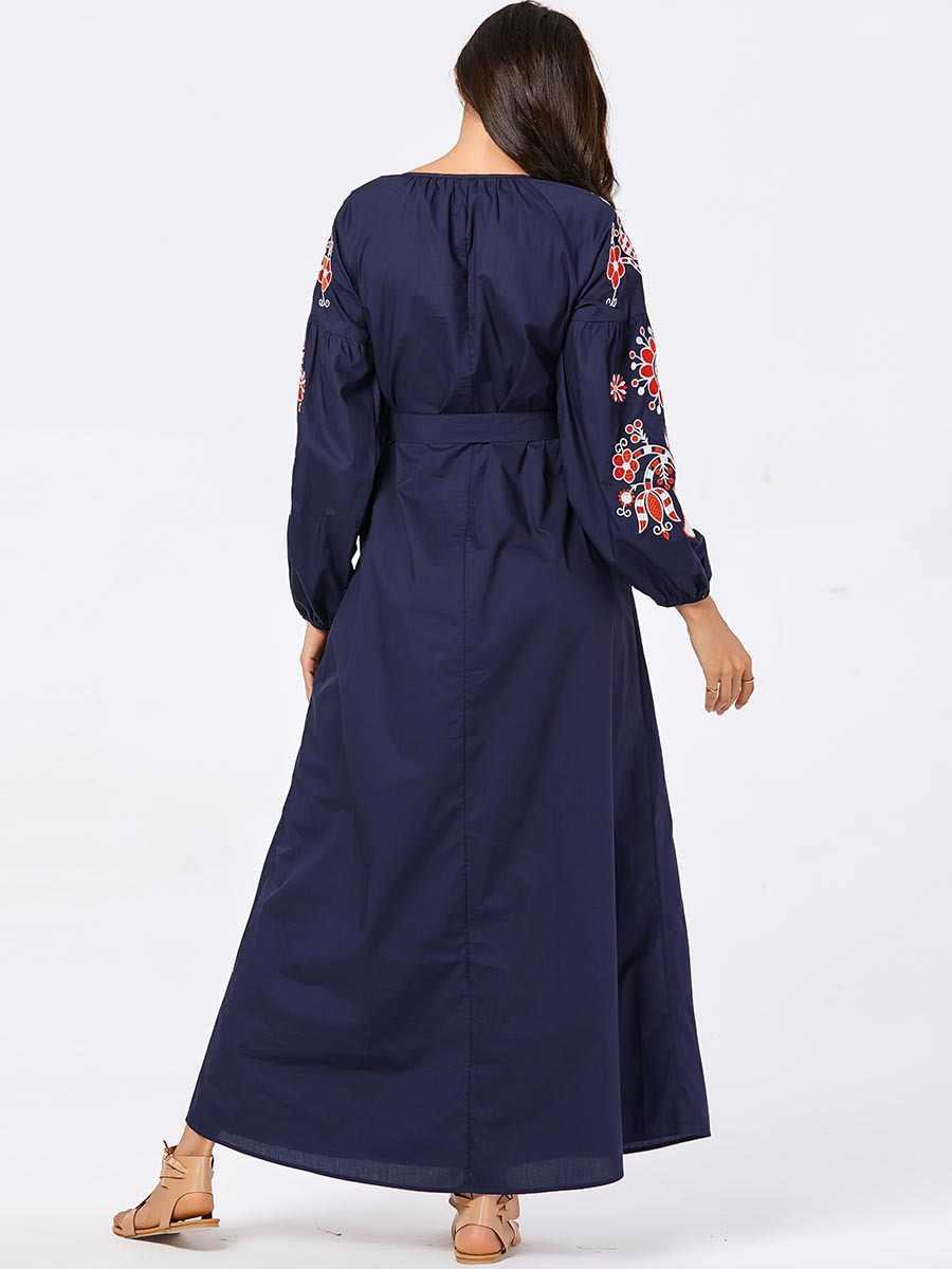 여성 두바이 abaya famme 파키스탄 터키 터키 플러스 사이즈 이슬람 의류 이슬람 드레스 자수 kaftan caftan marocain robe
