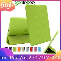"""Для iPad Air 2 Air 1 чехол с подставкой ультра тонкий из искусственной кожи + Силиконовые Мягкий Назад Smart принципиально Чехол для iPad Air 2/Air 1 9,7"""""""