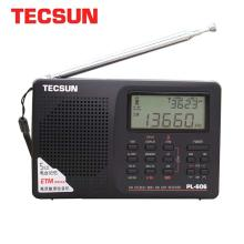 Tecsun PL-606 Digital PLL Portable Radio FM Stereo/LW/SW/MW DSP Receiver Black free shipping tecsun a9 fm stereo radio reception led digital display mp3 player computer speaker radio receiver portable radio