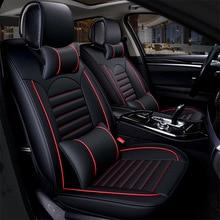 Kalaisike الجلود العالمي مقعد السيارة يغطي لفورد جميع نماذج التركيز فييستا s ماكس مونديو اكسبلورر ecosport سيارة التصميم